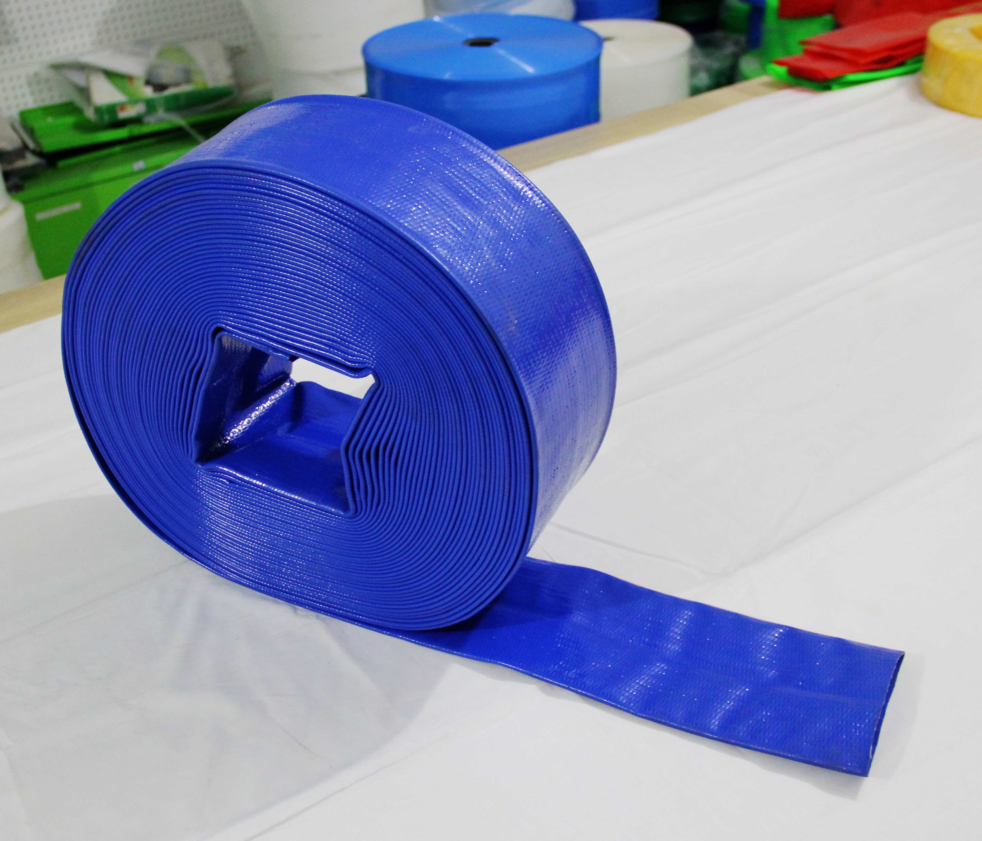 5 Inch Big Size PVC Plastic Hose Pipe For Irrigation