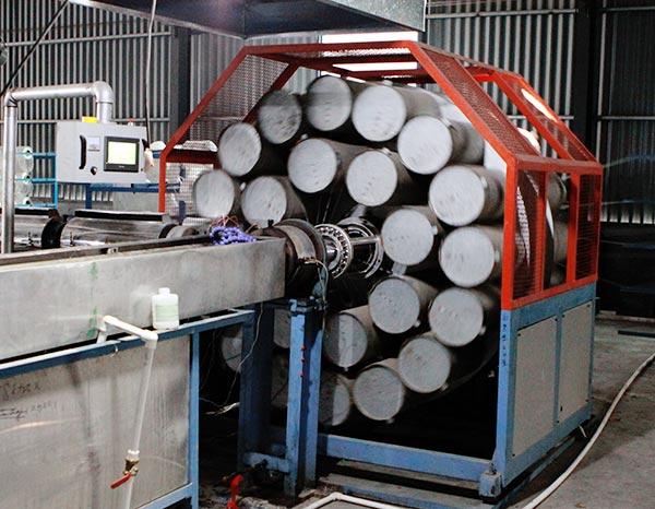PVC Braided Process