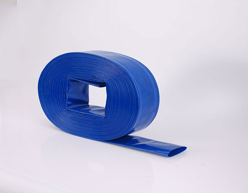Blue Flexible 3 Inch PVC Lay Flat Pipe