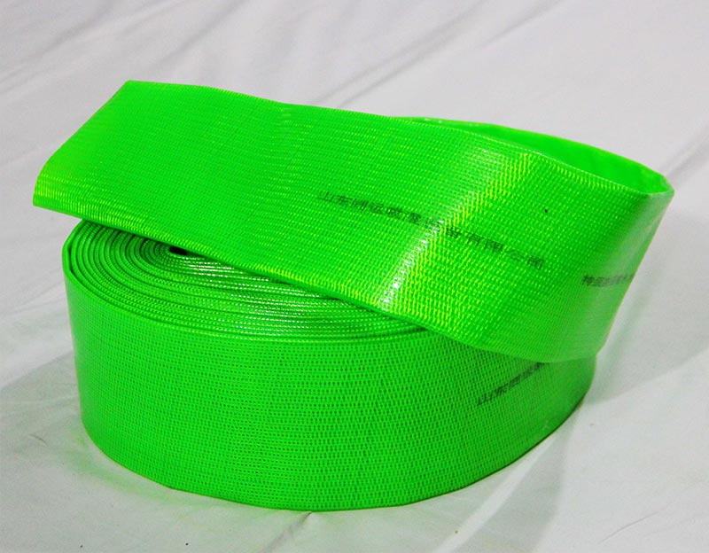 PVC Single and Double Layers Layflat Hose for Agriculture Irrigation
