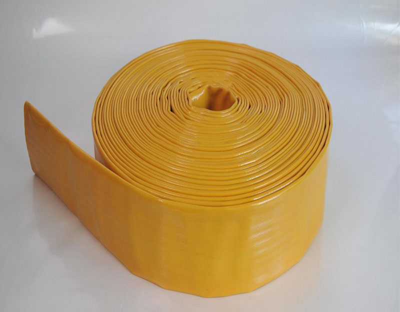 Water Discharge Hose Heavy Duty Agriculture Irrigation PVC Layflat Hose