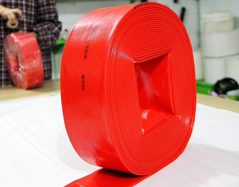 PVC Transparent Layflat 4 Inch Hose for Farm Irrigation Tape