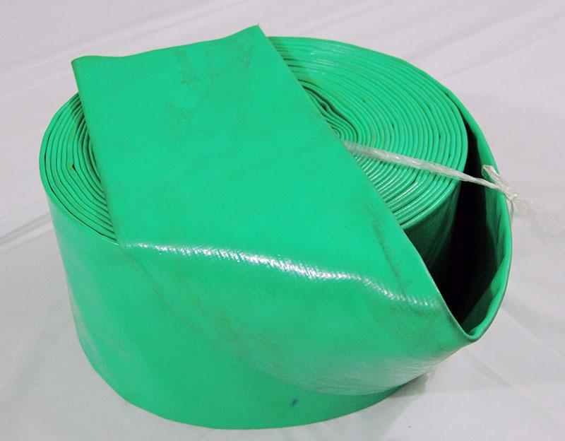 Light Duty PVC Plastic Tube Lay Flat Hose For Irrigation Drip System