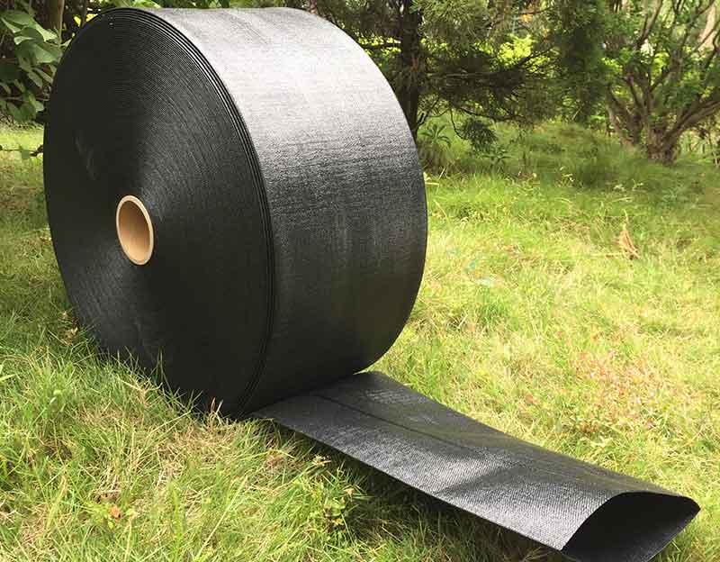 Soft Braided PE Black Layflat Hose