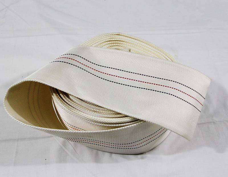 White Marine Used PVC Fabric Fire Hose