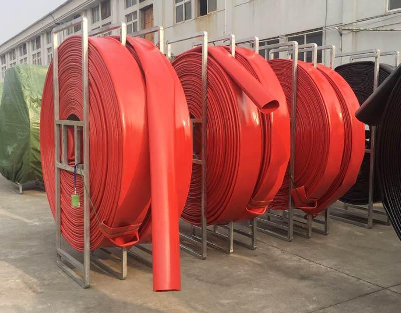12 Inch Diameter Fire Hose TPU Flexible Layflat Oil Supply Hose